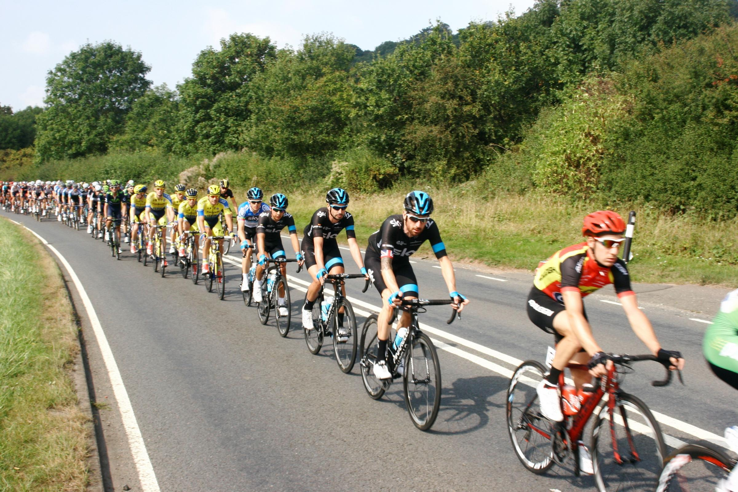 Tour of Britain cycle race heading to Somerset and Devon — MAPS